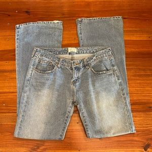 Abercrombie & Fitch 'Flare' Jeans Sz 6R Distressed